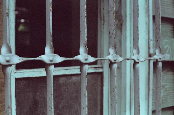 老郵局的鐵窗