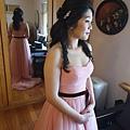 粉色禮服 CH WEDDING