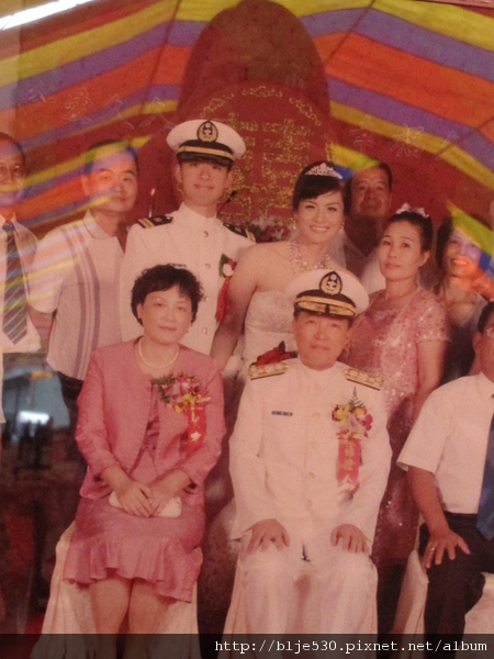 超酷婚紗照!! 99.9.9海軍集團結婚