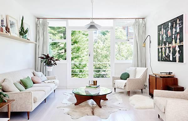 明亮透光感公寓設計