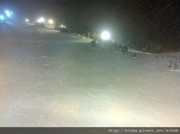 夜滑是另外一種寂靜境界