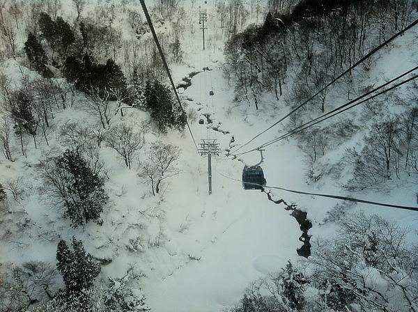 下降纜車很可怕