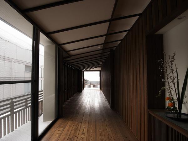 檜木溫泉的走廊