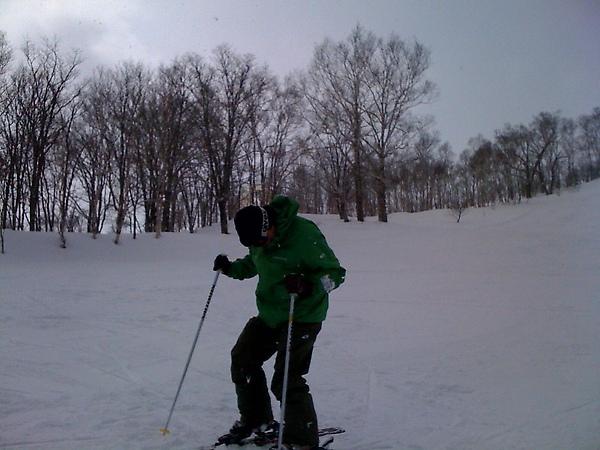 羅傑滑雪中