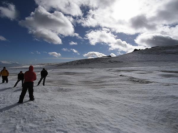 史考拉冰河上