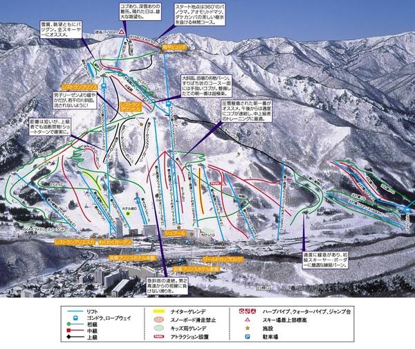 雪場地圖長這樣