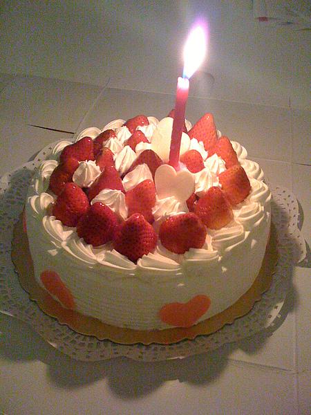 某年我生日蛋糕