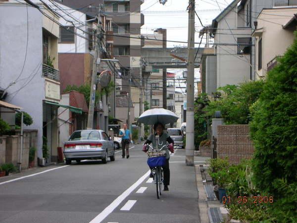 歐巴桑腳踏車的標準配備