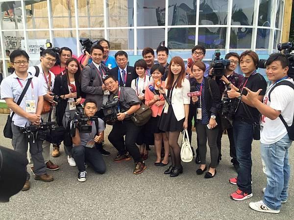 光州世大運 記者採訪團隊