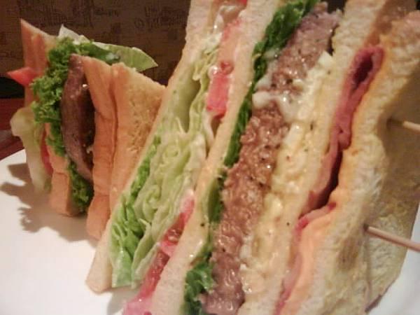 超厚三明治