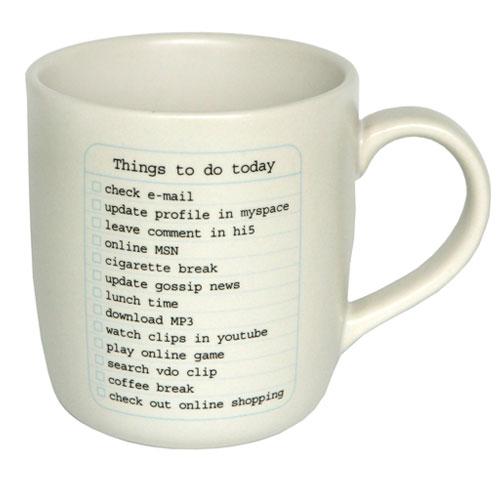 每天提醒馬克杯