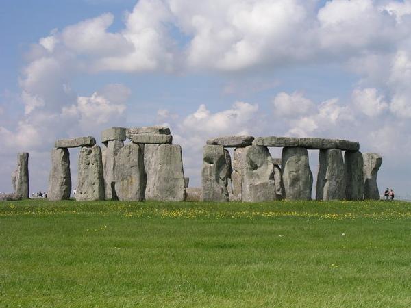 遠觀巨石群