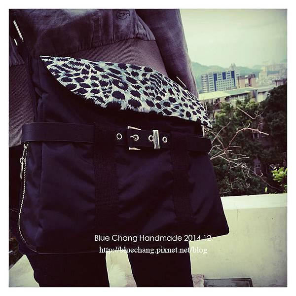 美鳳豹紋包