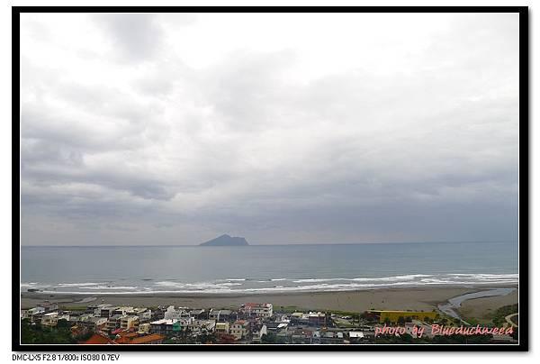 外澳看見龜山島