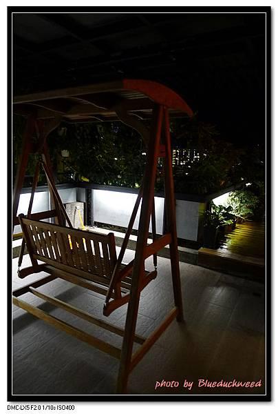 陽台的搖椅