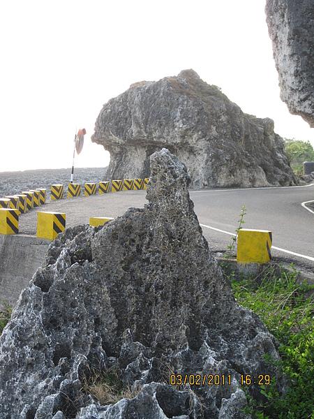 觀音岩,真的是觀音的側臉喔