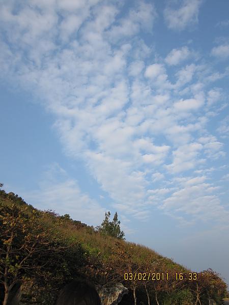 小琉球的天空