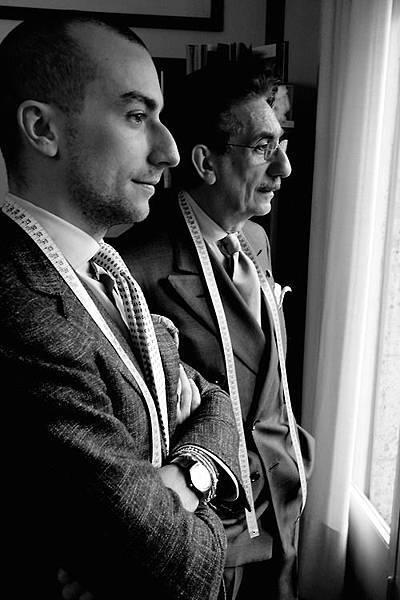 Carlo and Massimiliano Andreacchio of A. Caraceni.