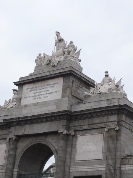 Puerta de Toledo圓環中間的拱門