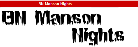 字型:BN Manson Nights