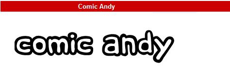 字型:Comic Andy