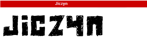 字型:Jiczyn