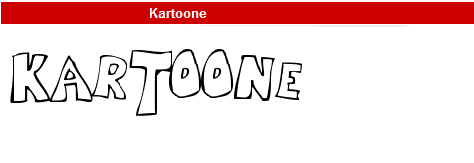 字型:Kartoone