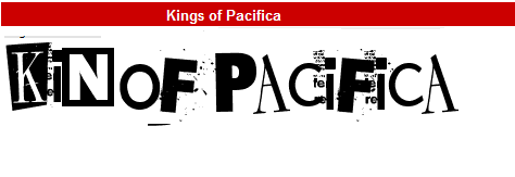 字型:Kings of Pacifica
