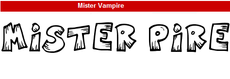 字型:Mister Vampire