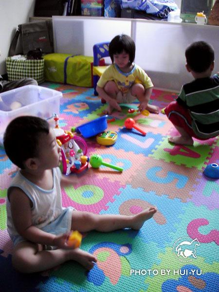 7月26日家裡的小客人