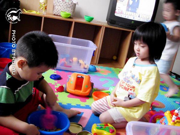 姊姊和哥哥都不和駿駿一起玩