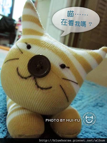 手作-襪子娃娃No16「虎斑貓」2.jpg