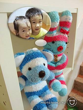 手作-襪子娃娃No21「小美與呆呆」2.jpg