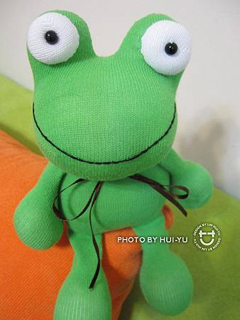 手作-襪子娃娃No24「小青蛙」2.jpg