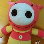 手作-襪子娃娃No29「羘豬豬」1.jpg