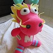 手作-襪子娃娃「龍ㄇㄟ」