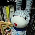 襪子娃娃-音樂小藍兔2