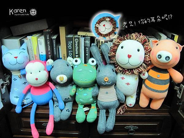 何嘉仁書店-三重店的襪子娃娃