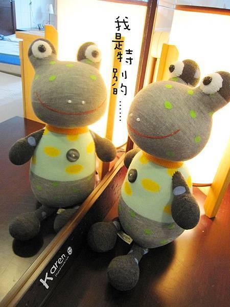 襪子娃娃「點點蛙」