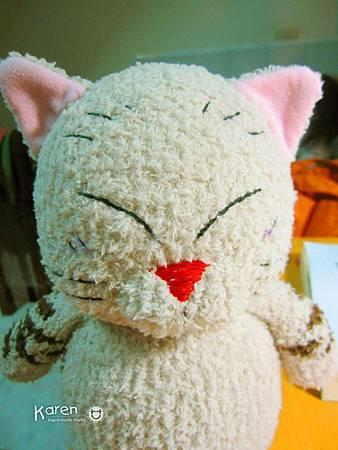 襪子娃娃-貓仙人2