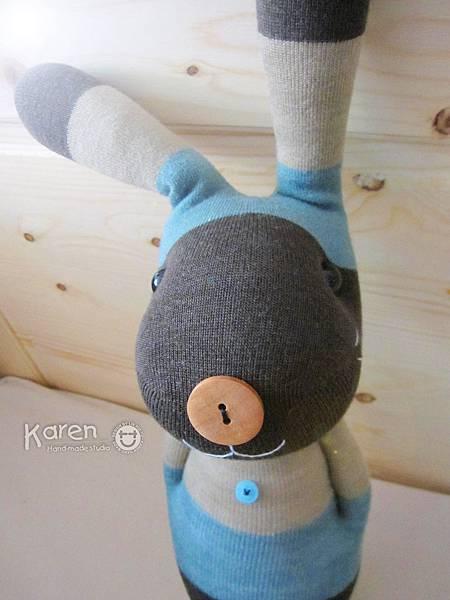 襪子娃娃-紳士兔
