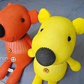 黃小熊、橘小熊2