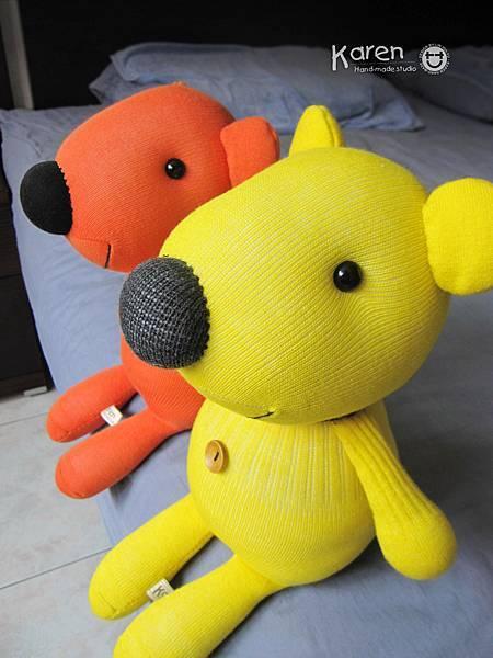 黃小熊、橘小熊3