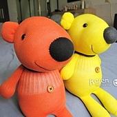 黃小熊、橘小熊1