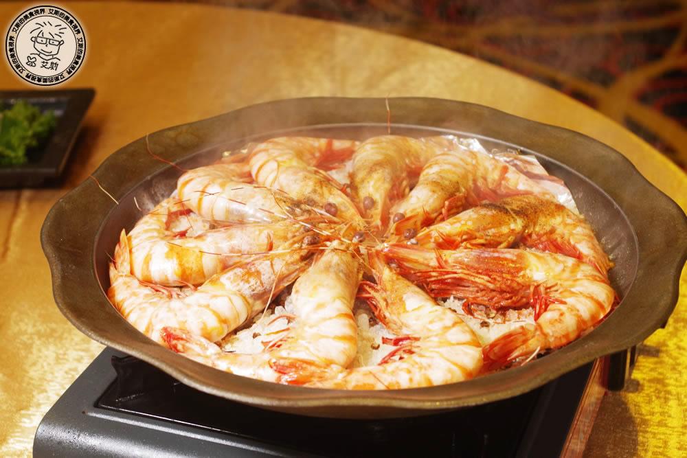 3宴會菜-銅盤鹽燒大明蝦2.jpg