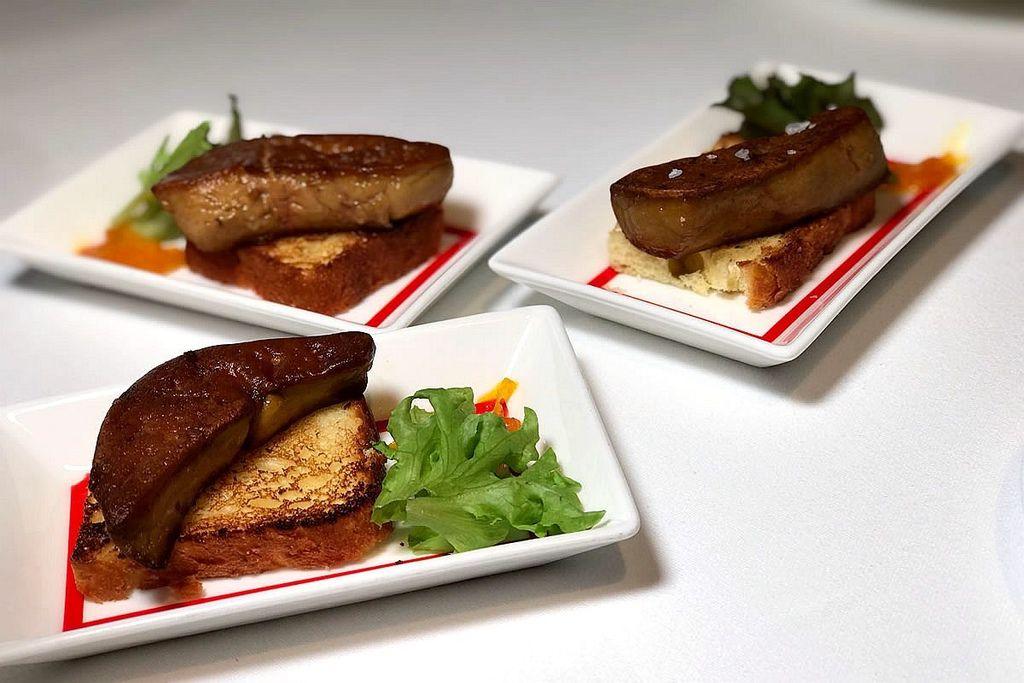 4香煎鴨肝襯布莉歐麵包佐洋蔥番紅花醬5.jpg