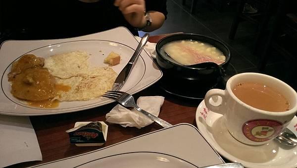 傳說中的港式早餐