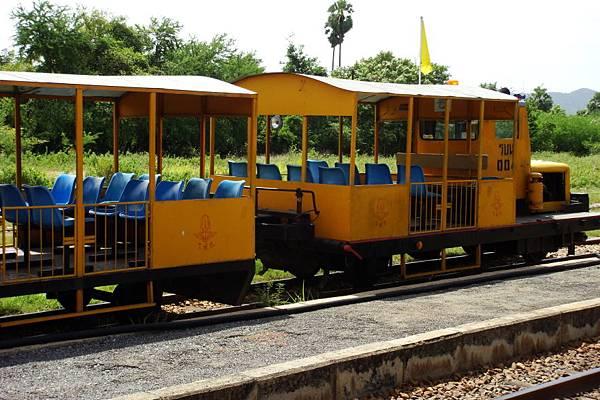泰緬鐵路之小火車