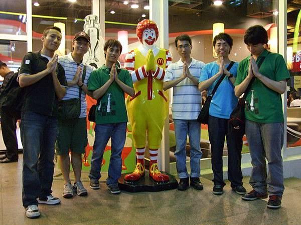麥當勞叔叔到泰國