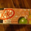 櫻花抹茶巧克力餅乾